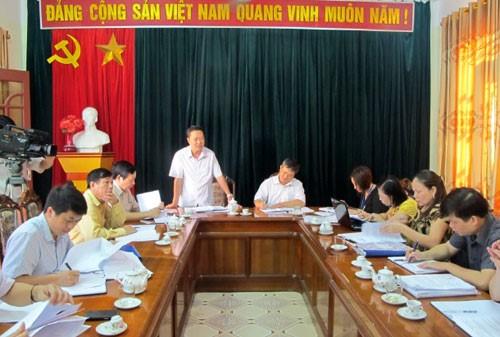 Đoàn công tác Uỷ ban Dân tộc làm việc tại Bắc Kạn