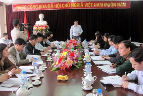 Họp Ban chỉ đạo Đại hội đại biểu các dân tộc thiểu số tỉnh Bắc Kạn lần thứ 2